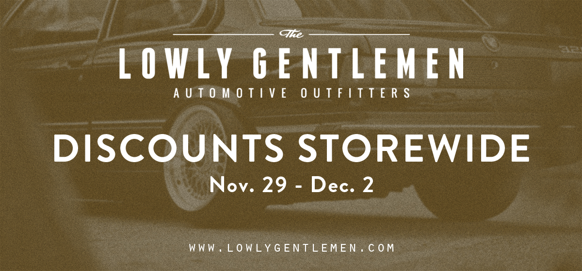 Lowly Gentlemen Black Friday Sale - Discounts Storewide
