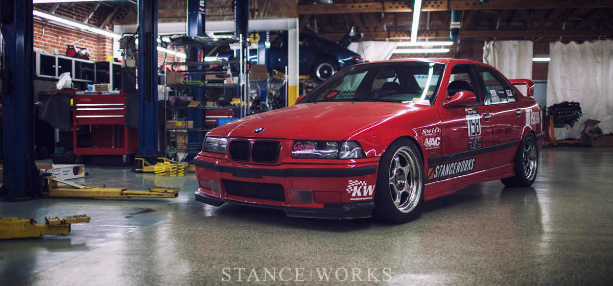 Building a Competitive Time Attack Race Car - The StanceWorks M3 at Avus Autosport