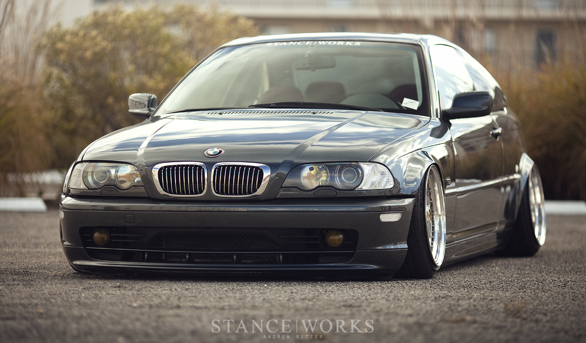 Stance Works Bagged Bmw E46