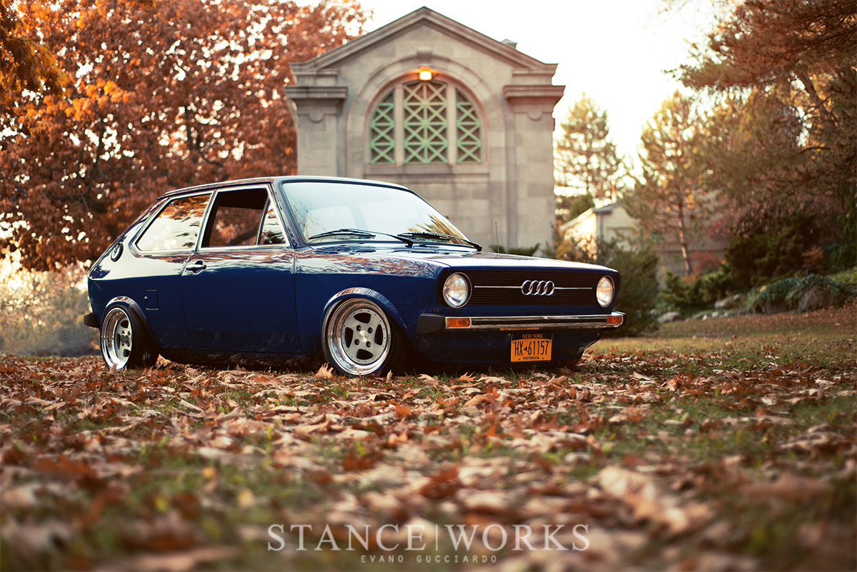 Following The Papertrail America S Only 1977 Audi 50 Stanceworks