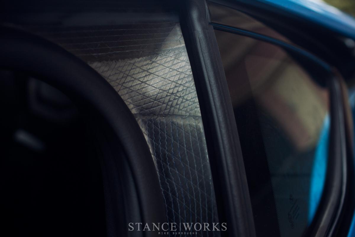 BMW I8 carbon fiber plastic