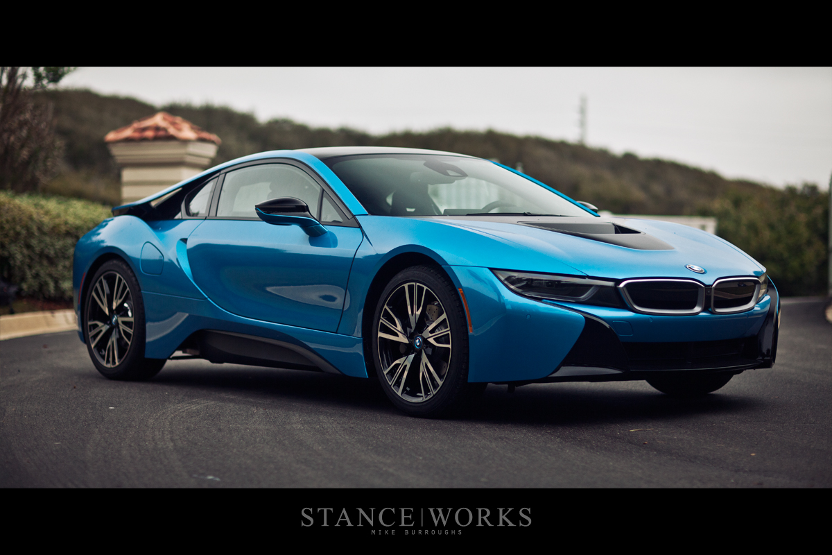 Bmw I8 Wheels Brakes Blue Hybrid