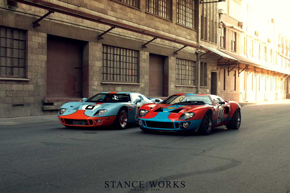 Reunited A Pair Of Australian Ford GTs StanceWorks - Drb sports cars queensland