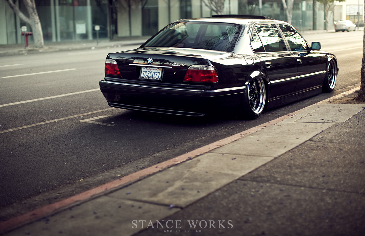 Bruised Egos Jeremy Whittles Black On Purple Bmw 740il Stanceworks Modified 740li There
