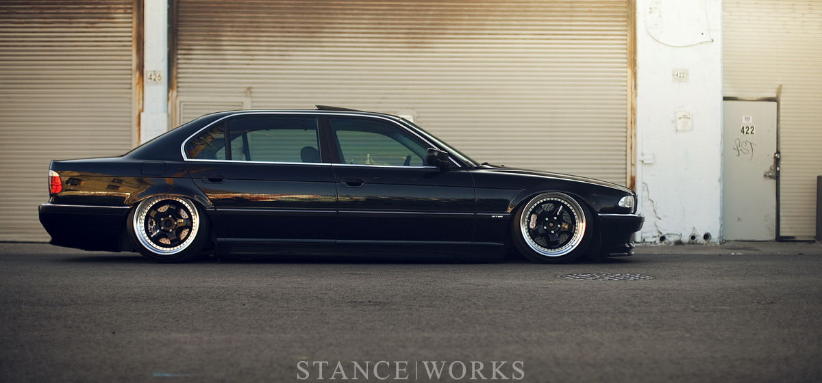 Bruised Egos Jeremy Whittles Black On Purple BMW 740iL