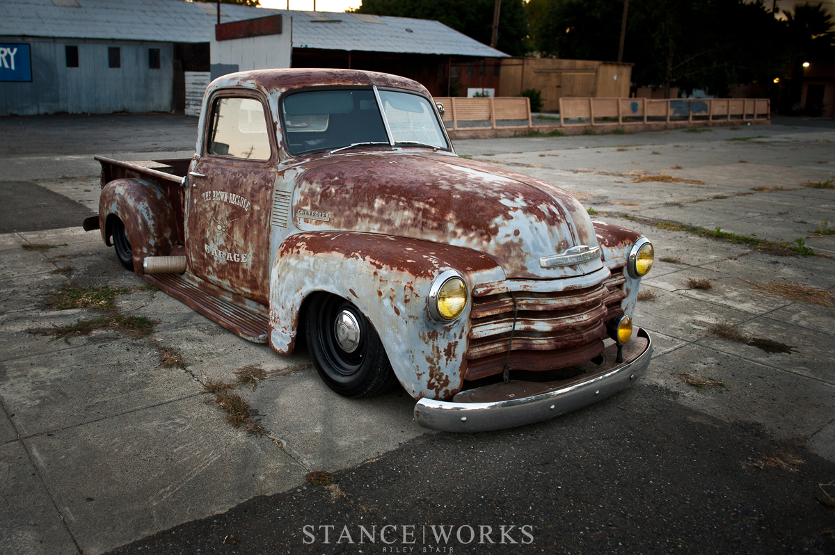Matt Riley Stairs 1949 Cummins Powered Chevy 3100 Pickup 1954 Pick Up Truck For Sale When