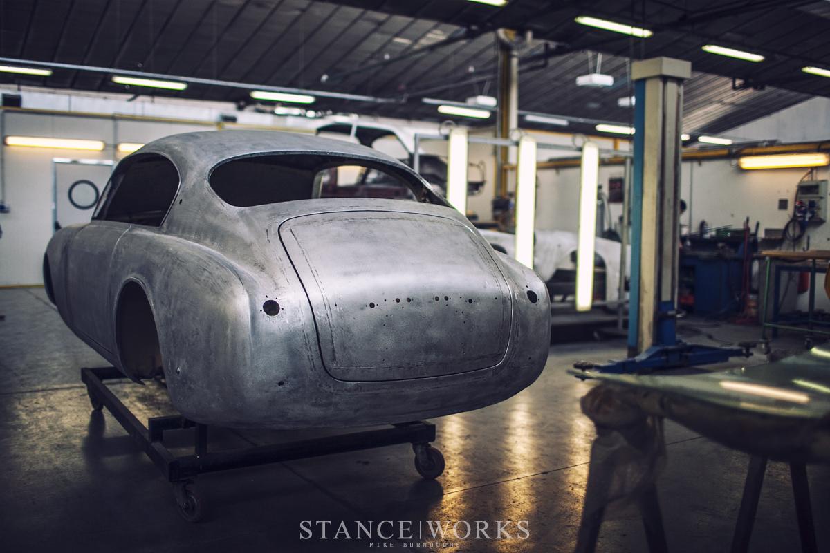 Aluminum Car Construction : Quot super light touring superleggera in milan italy