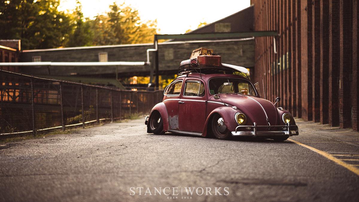 Brent Favreau S 1961 Red Over Red Ragtop Volkswagen Beetle