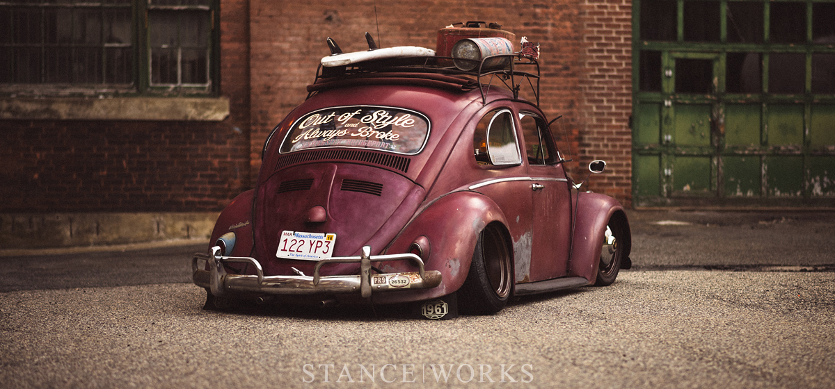 Out of Style & Always Broke - Brent Favreau's 1961 Ragtop Volkswagen Beetle