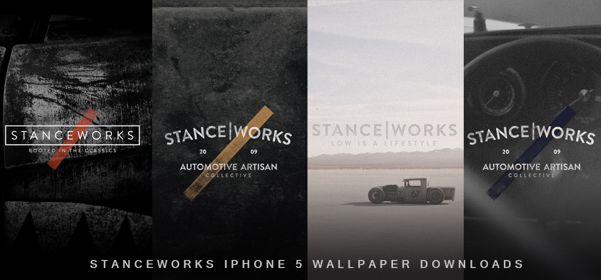 The StanceWorks iPhone 5 Wallpaper Downloads