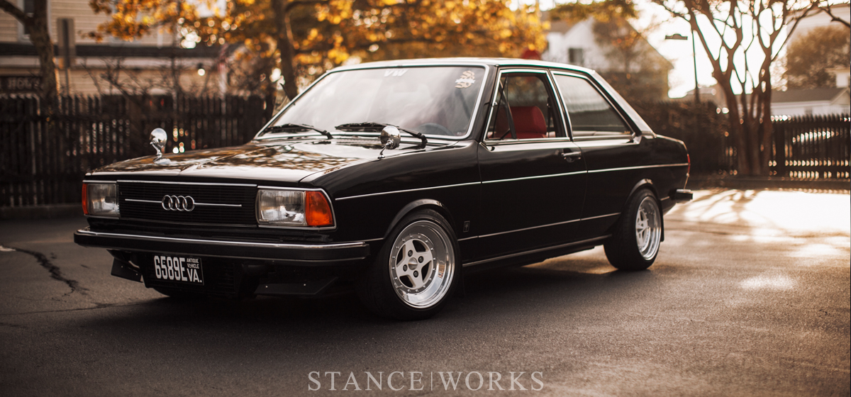 audi 2 4 stanceworksbetween black and white \u2013 blair peterman\u0027s 1978 audi fox