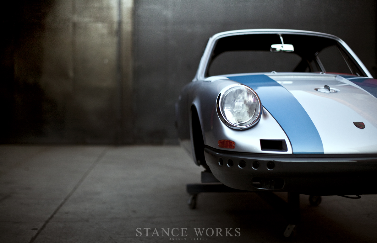 Magnus Walker 911 67S RT dimple die holes