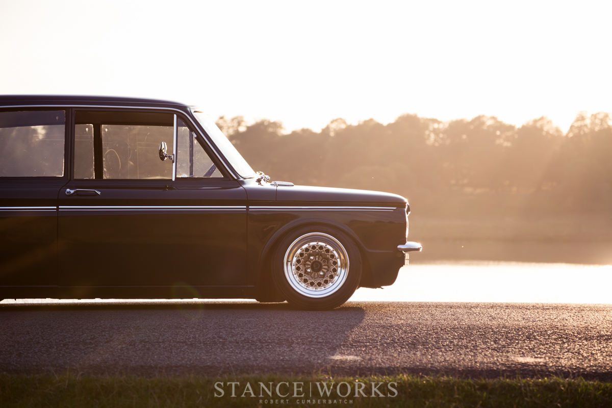 Stance Works A Bagged Hillman Imp Sitting On Ronal Split Wheels Volvo 122 1967 Wiring Diagram What