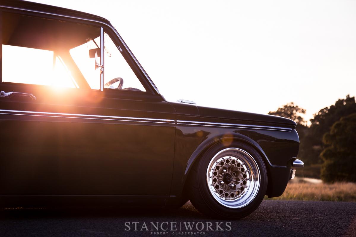 Stance Works A Bagged Hillman Imp Sitting On Ronal Split Wheels Volvo 122 1967 Wiring Diagram It