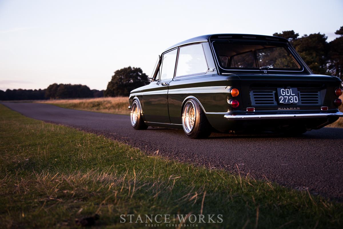 Stance Works A Bagged Hillman Imp Sitting On Ronal Split Wheels Volvo 122 1967 Wiring Diagram Rob