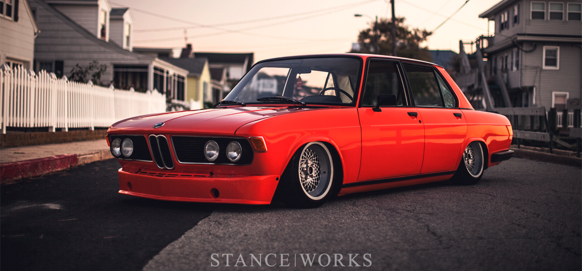 A New Direction - Brian Hoehne's Inka Orange Bagged BMW Bavaria
