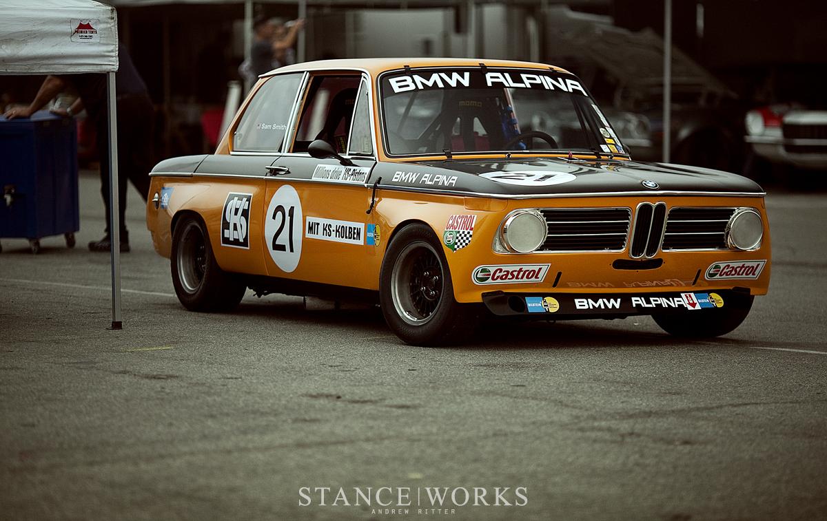 Bmw 2002 Tii Race Car >> Stance Works - BMW USA Classic's Alpina BMW 2002