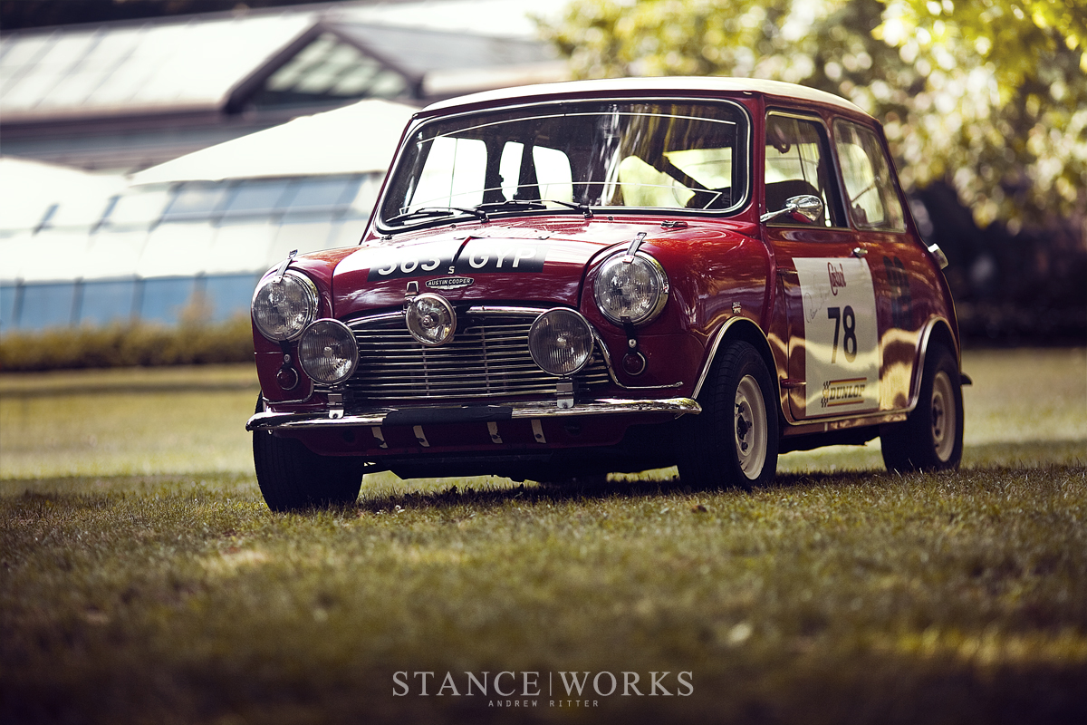 stance works the history of the works mini coopers. Black Bedroom Furniture Sets. Home Design Ideas
