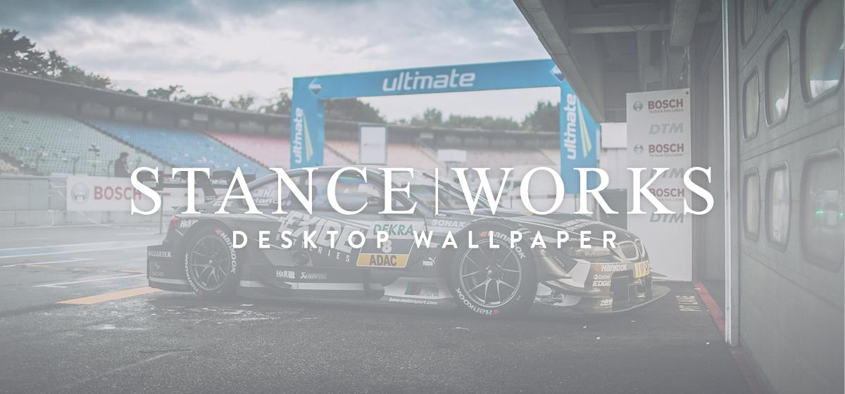 StanceWorks Wallpaper - Joey Hand's 2013 BMW E92 DTM Race Car