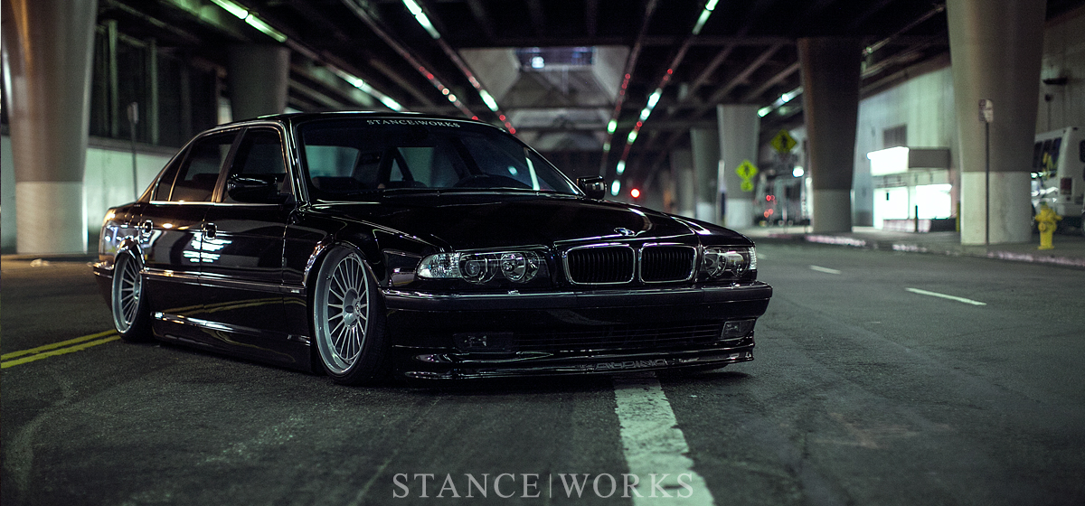 NIGHTFALL Jeremy Whittles StanceWorks BMW E38
