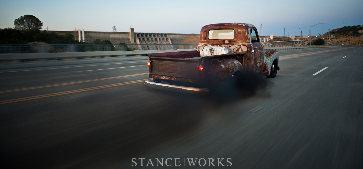 Flashback Friday - Matt & Riley Stair's 1949 Cummins-Powered Chevy 3100 Pickup