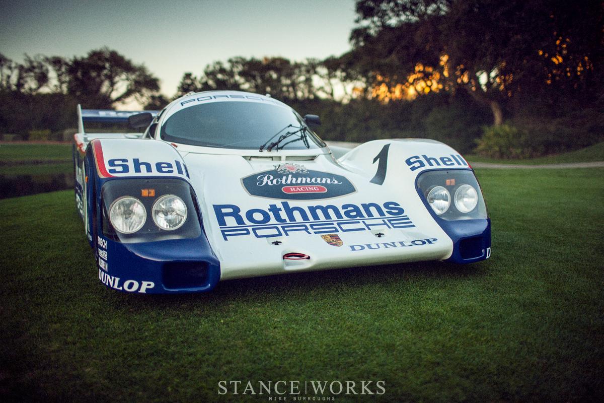 Catching A Glimpse Tidbits Of The Porsche 962