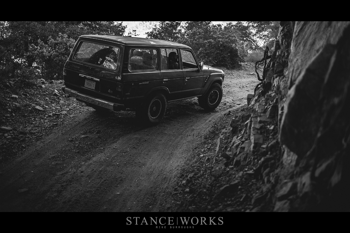 daily grind climbing to santiago peak in the s w fj62 land cruiser. Black Bedroom Furniture Sets. Home Design Ideas