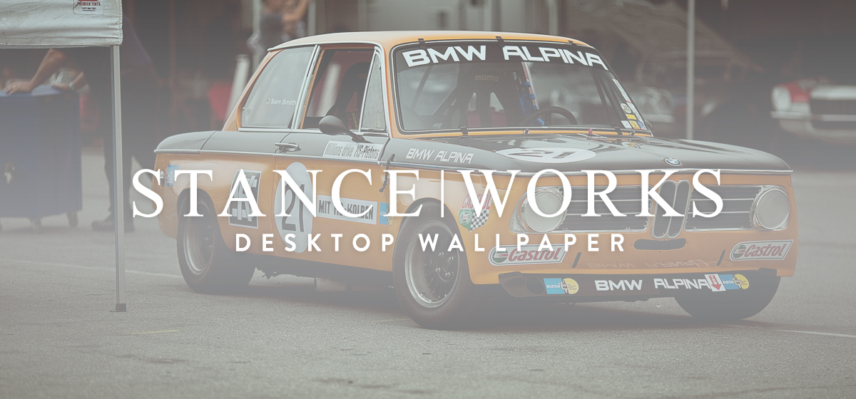 StanceWorks Wallpaper - BMW USA Classic's Alpina 2002