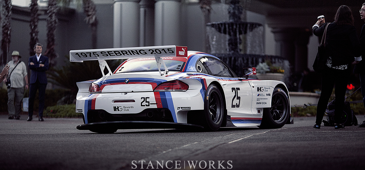 Taking it Back to Where it All Began : BMW Unveils its special Sebring Anniversary Livery