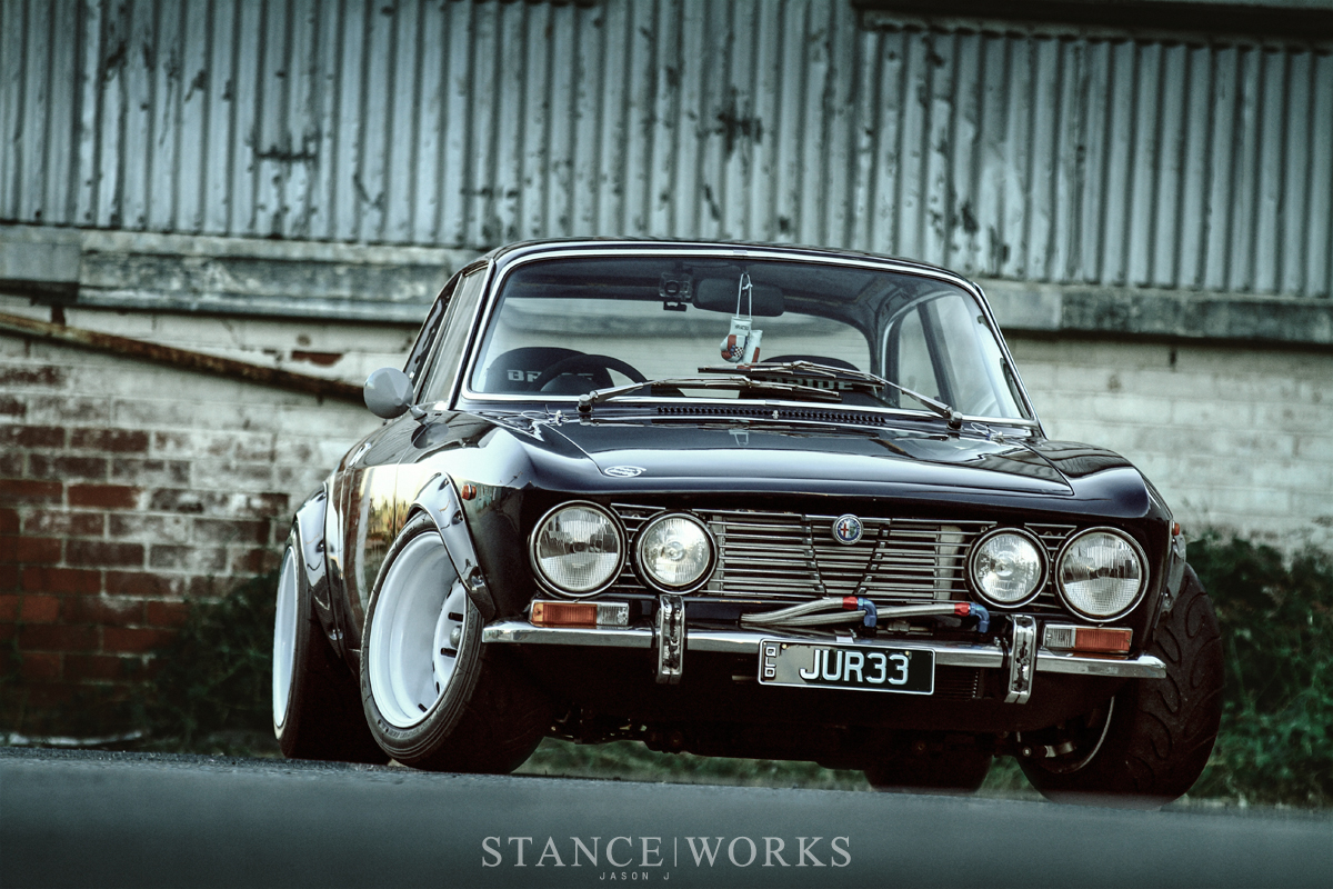 jason j 39 s sr20 swapped alfa romeo 2000 gtv stanceworks. Black Bedroom Furniture Sets. Home Design Ideas