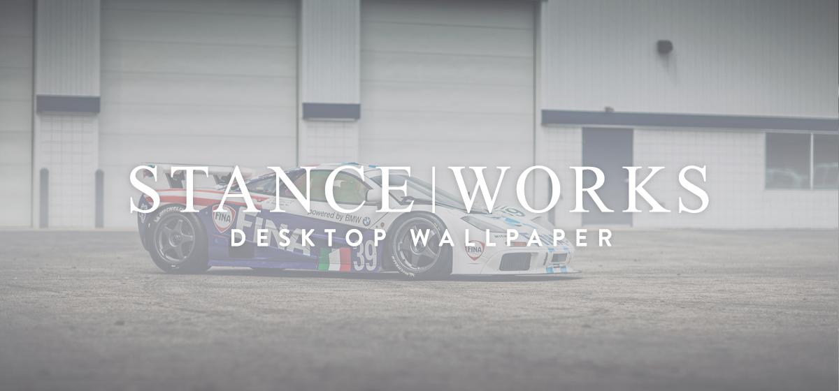 StanceWorks Wallaper - McLaren F1 GTR chassis 17R