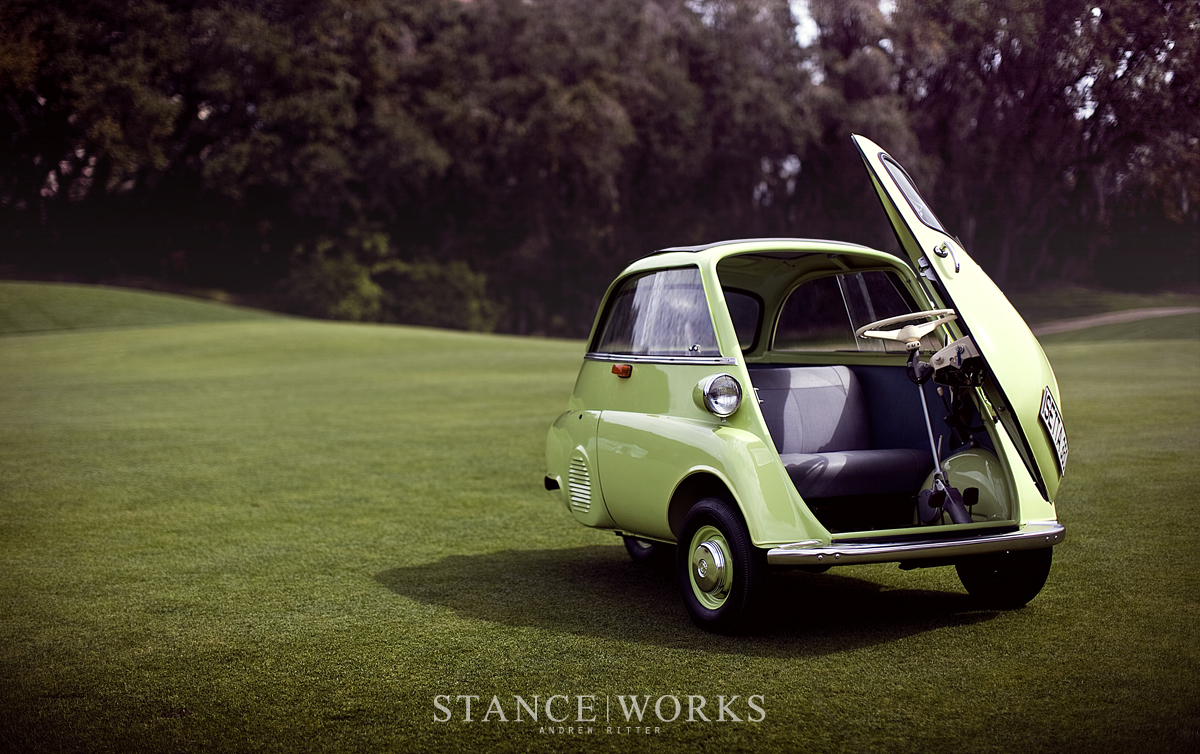 The Bmw Isetta Moto Coupe Born In Italy Raised In