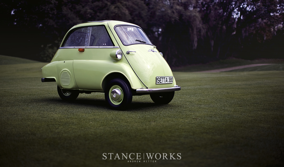 The BMW Isetta Moto Coupe Born In Italy Raised In Germany - Bmw 3 wheel car