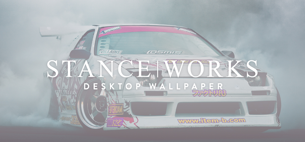 Wallpaper Wednesday - Evan Brown's Item-B/Hoonigan RX7 Does What It Does Best