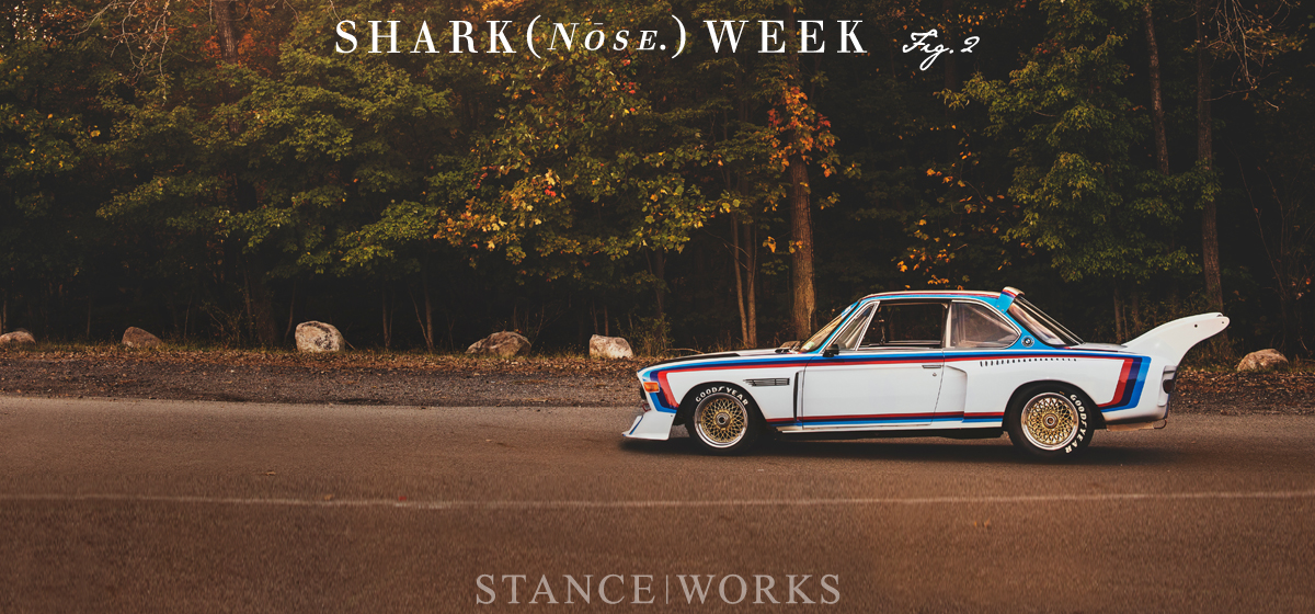 Shark(nose) Week Fig. 2 - Joe Rodriguez's Group 5 BMW E9 3.5 CSL Tribute Car