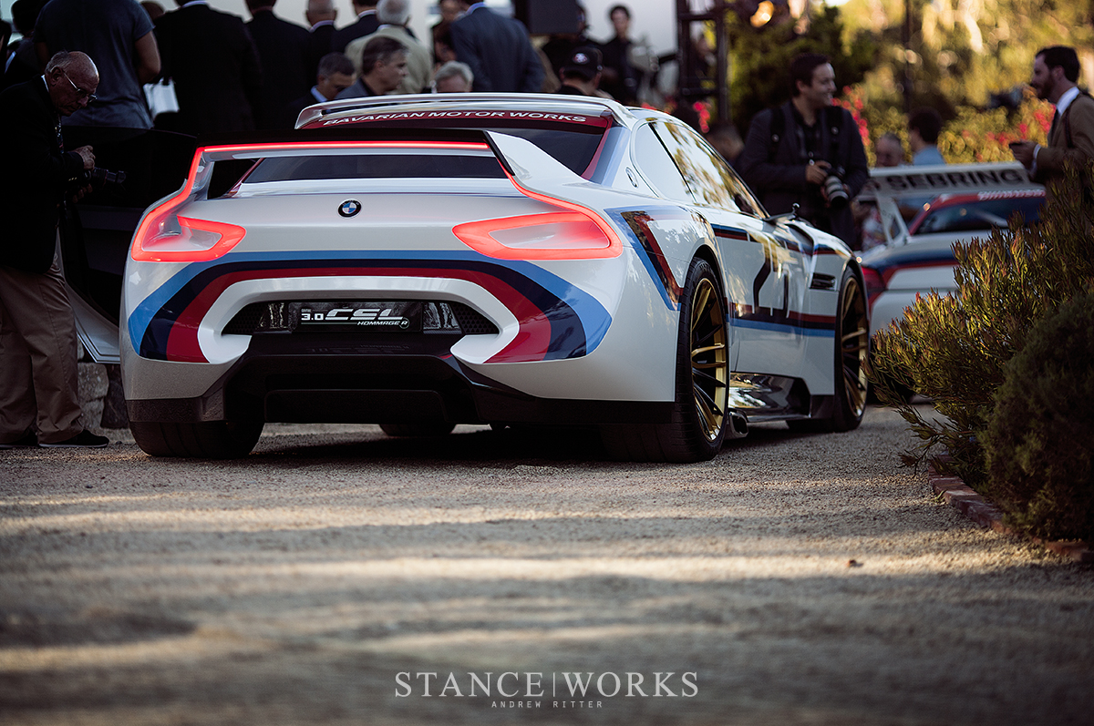 World Unveiling The Bmw Csl Hommage R