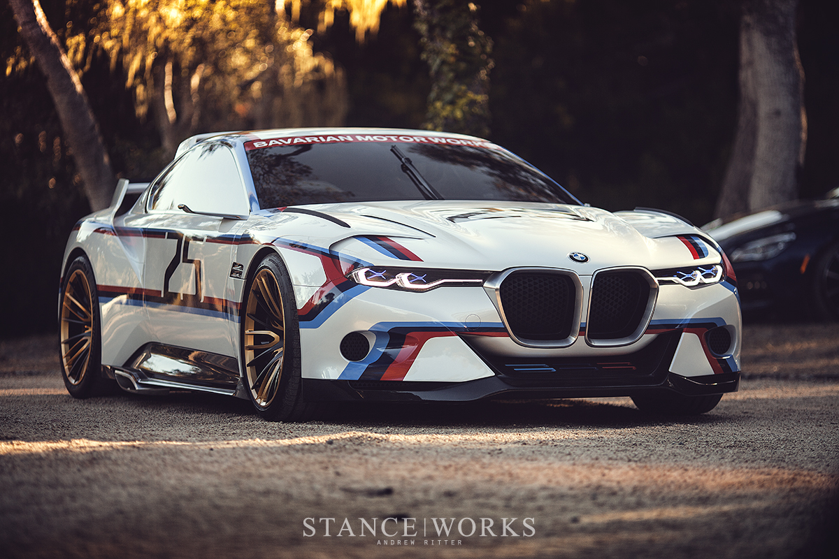 BMW CSL Hommage R Concept Car - Pebble Beach, Monterey