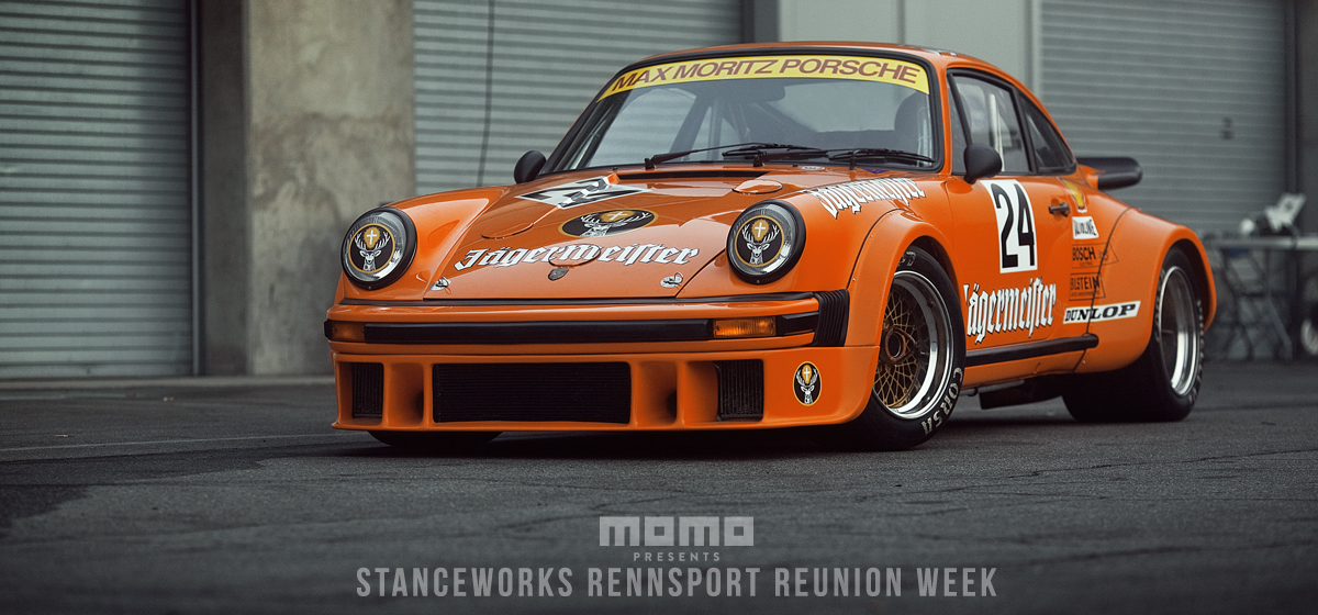 The Jagermeister/Momo Porsche 934 Chassis #0167