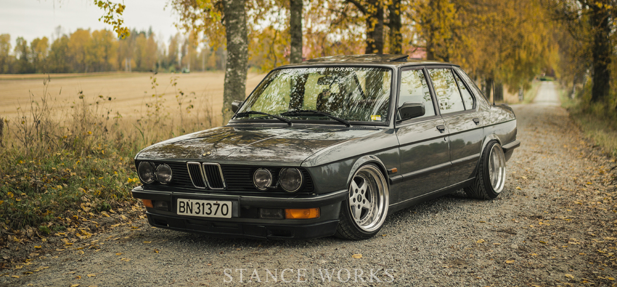 When Work Becomes Play Robin T 248 Rmoen S Bmw E28 520i