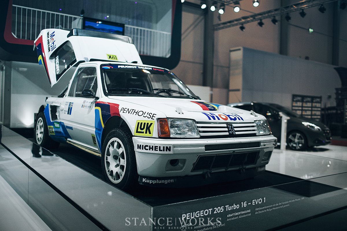 Aesthetics An Essen Encounter The Peugeot 205 T16 Stanceworks