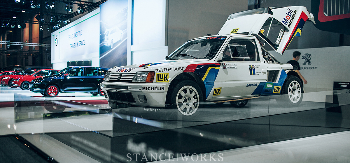 Aesthetics: An Essen Encounter - The Peugeot 205 T16