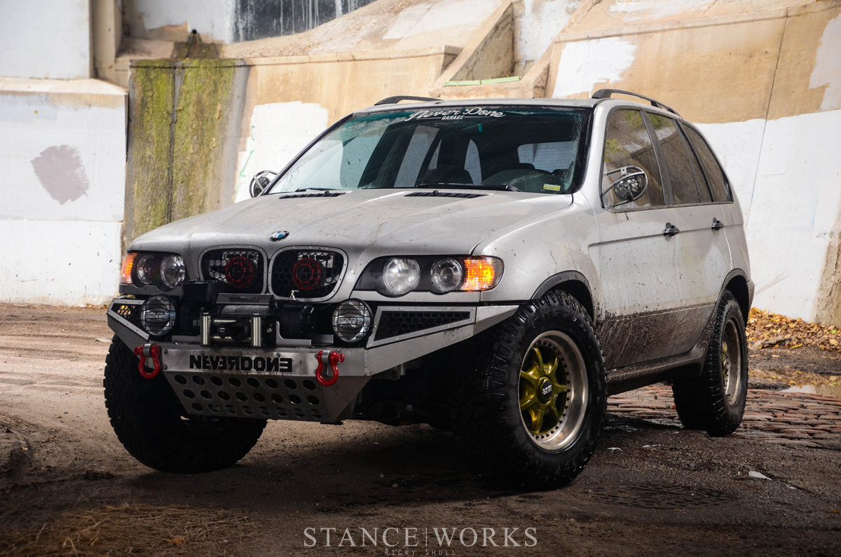 Purpose Built For Fun Tyler Coey S Bmw X5 Stanceworks