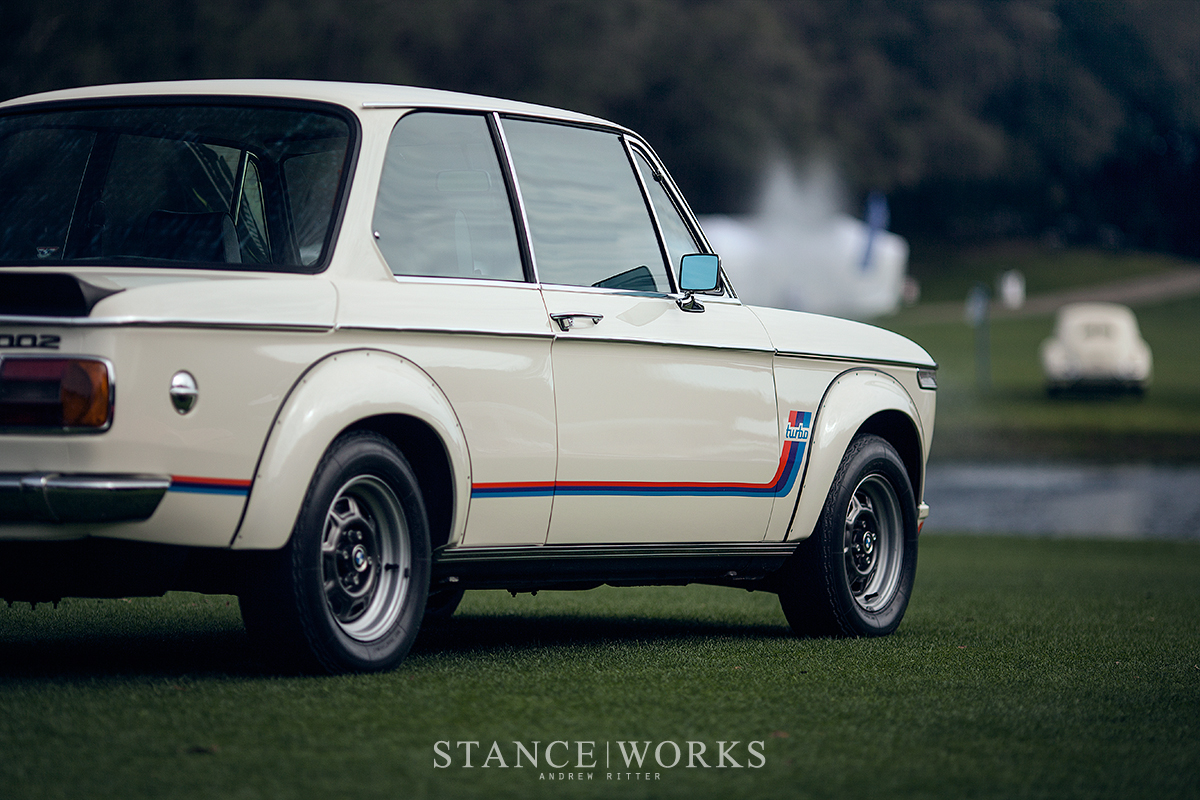 100 years of bmw the bmw 2002 turbo at amelia island stanceworks. Black Bedroom Furniture Sets. Home Design Ideas