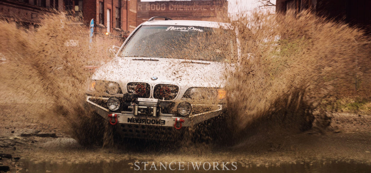 Purpose Built for Fun: Tyler Coey's BMW X5
