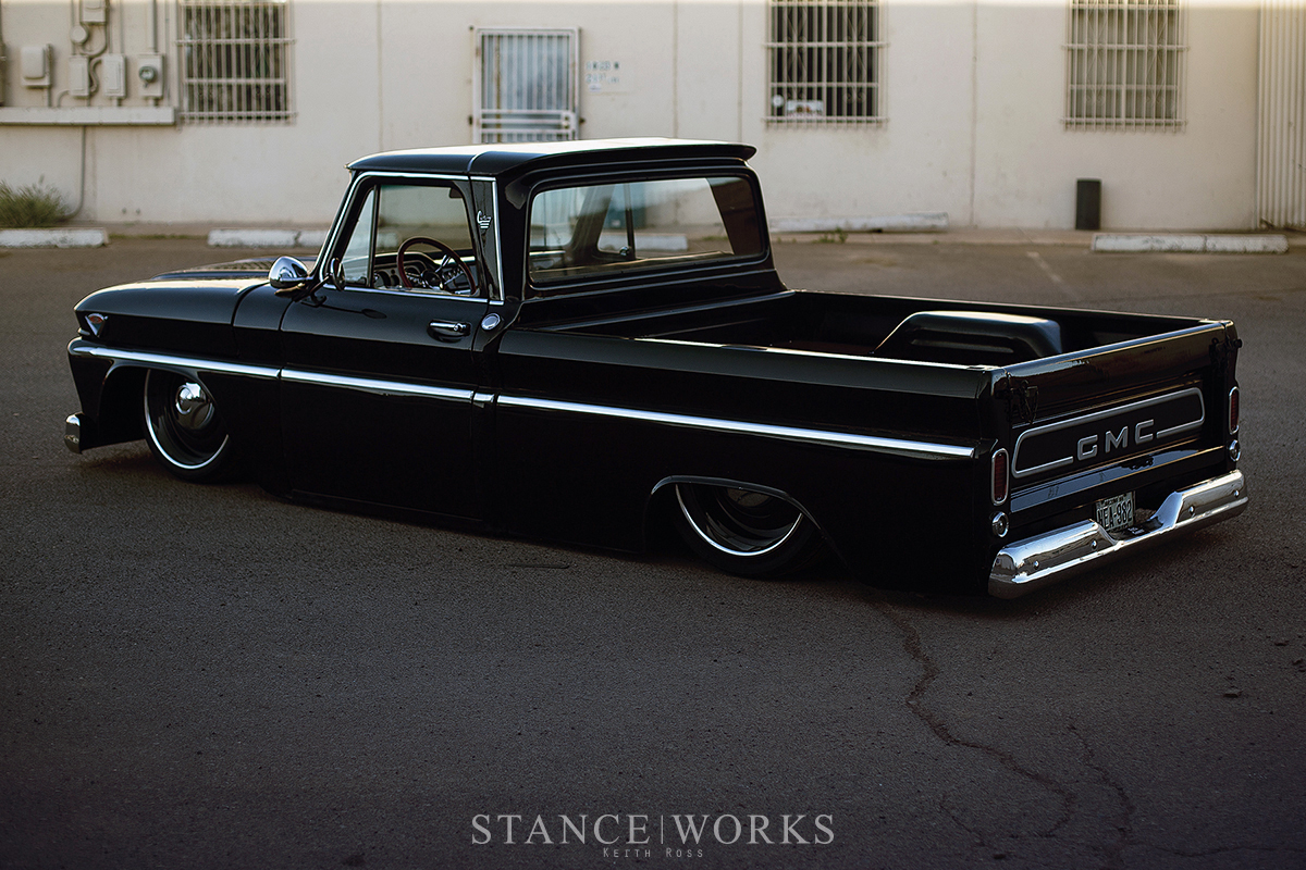 Dave Cantrells 1966 C10 Gmc Shortbed Captured By Keith Ross Chevy Fleetside