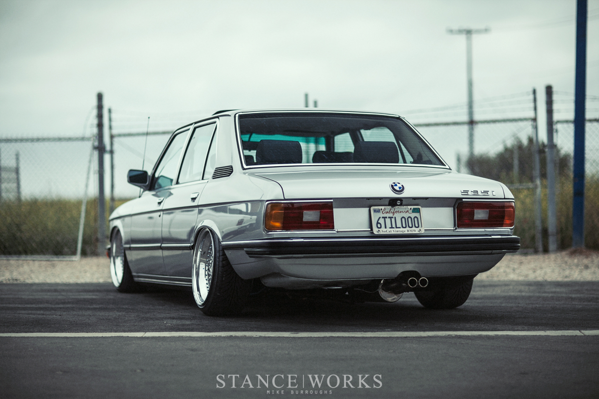 Ron Perrys Air Lift Performance Equipped 1980 Bmw E12 535i 5 Series