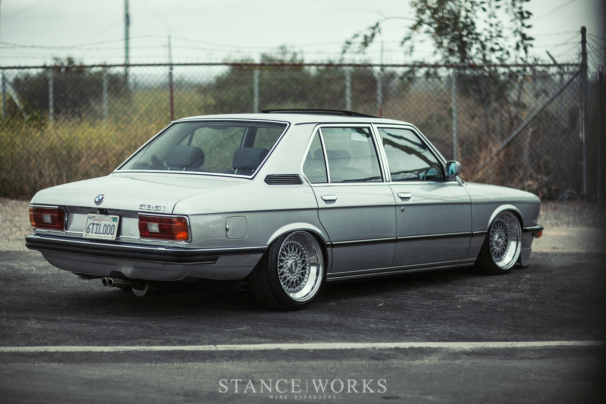 Ron Perrys Air Lift PerformanceEquipped 1980 BMW E12 535i