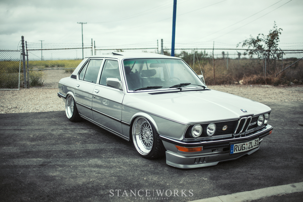 ron perry 39 s air lift performance equipped 1980 bmw e12 535i. Black Bedroom Furniture Sets. Home Design Ideas