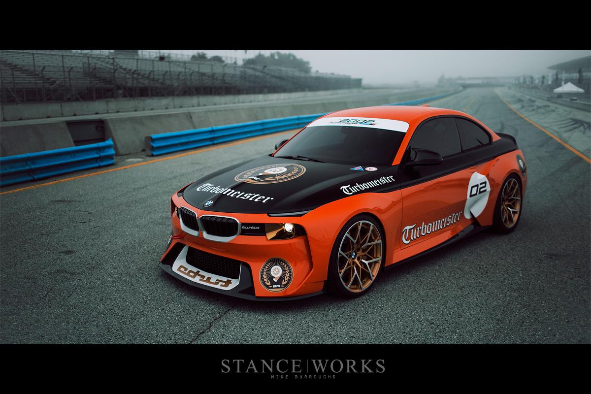 "Mazda Raceway Laguna Seca >> ""Turbomeister"" - The BMW 2002 Hommage Concept - StanceWorks"
