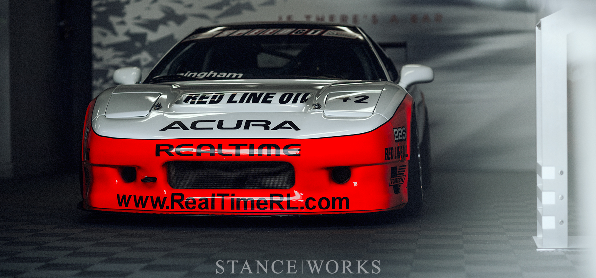 Garaged: The Speed World Challenge GT Acura NSX